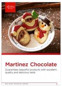 Martinez A4 productbrochure kerst, christmas