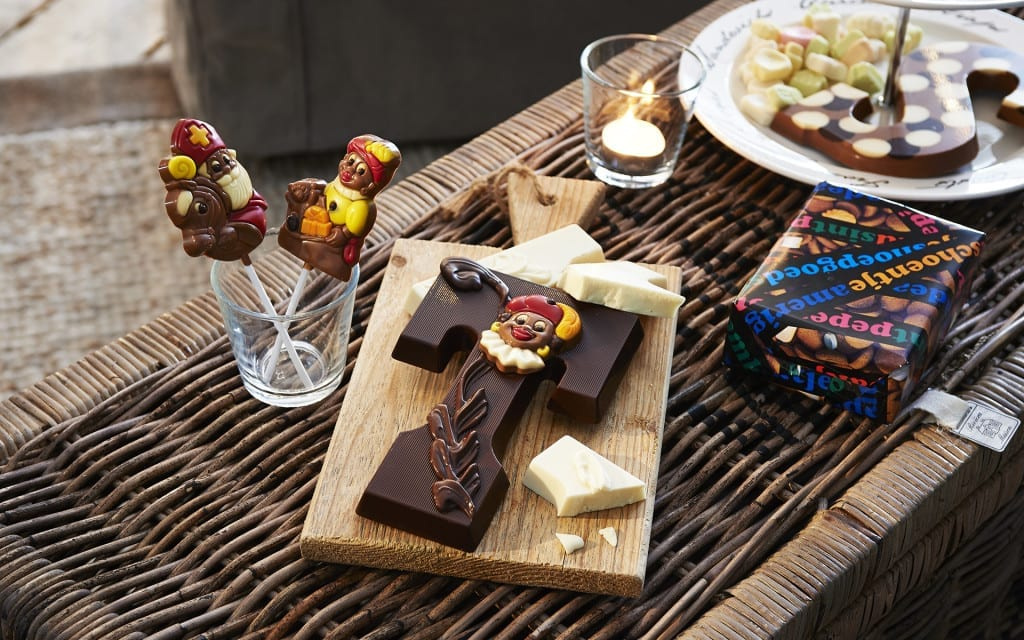 Martinez chocoladeletters sinterklaas