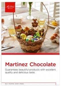 Martinez A4 productbrochure Easter, pasen