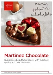 Martinez A4 productbrochure Mothersday, moederdag