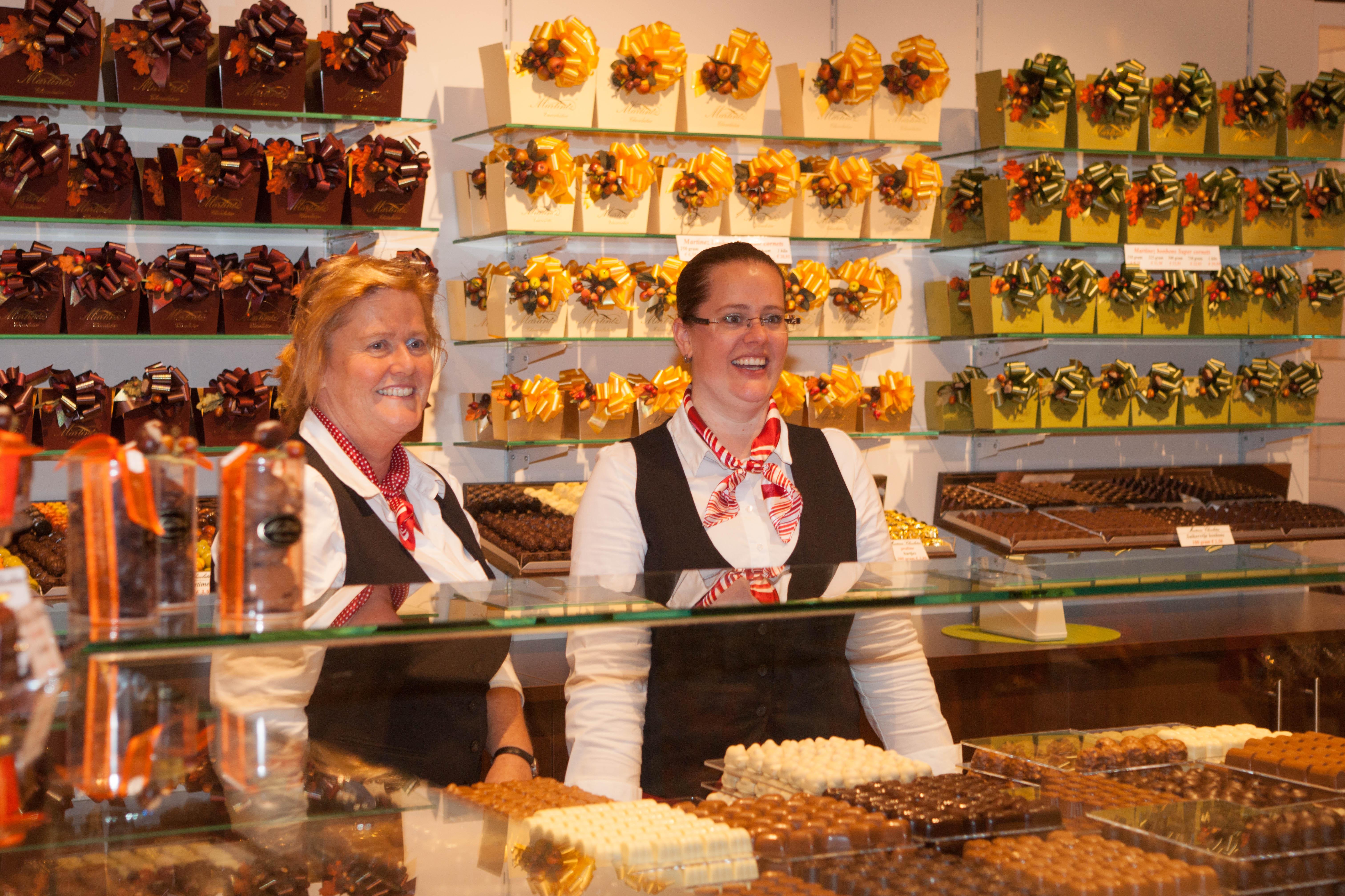 Opening Martinez Chocolatier
